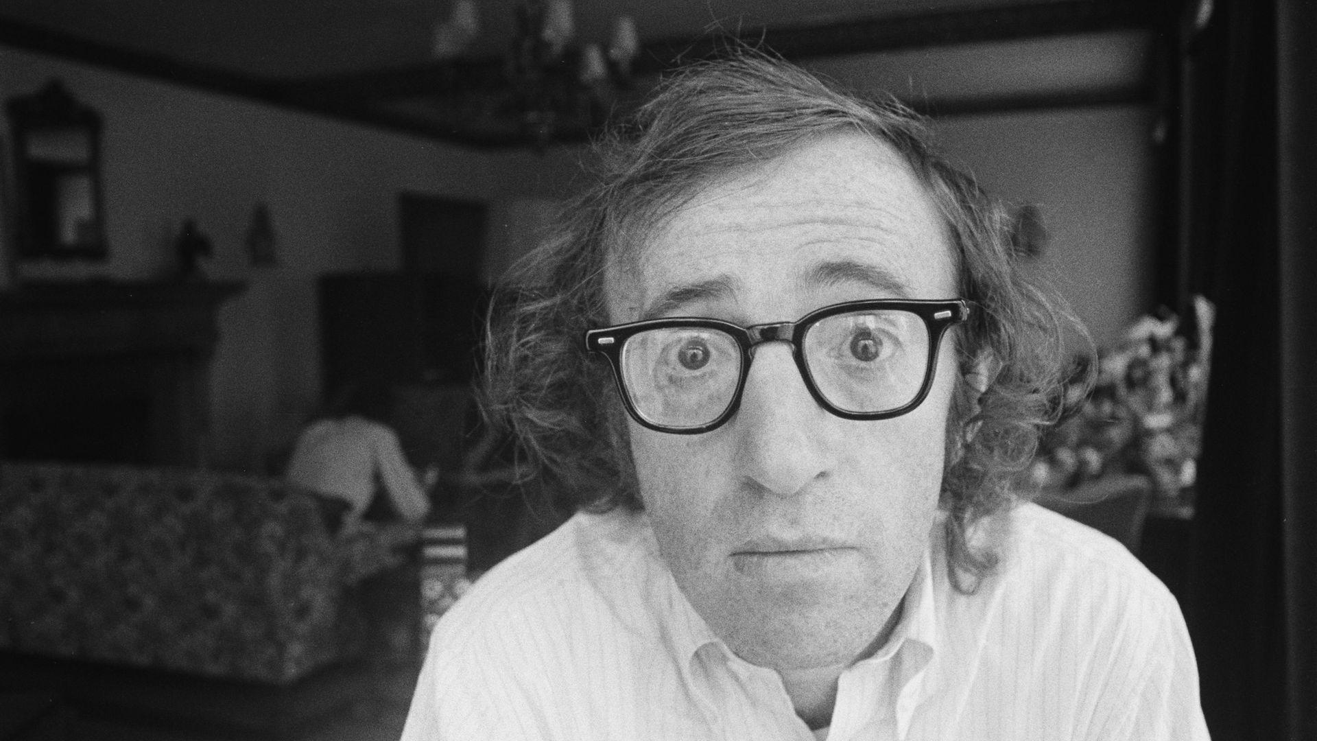 Woody Allen, in 1971 - Credit: Getty Images