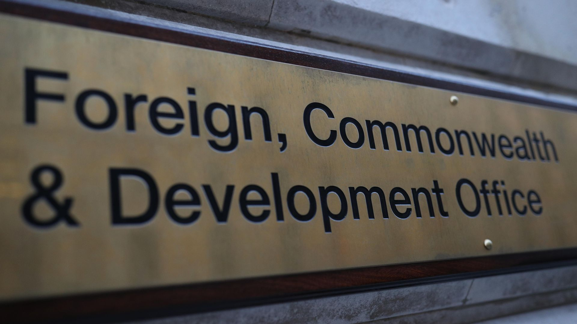The Foreign, Commonwealth and Development Office in London. - Credit: PA