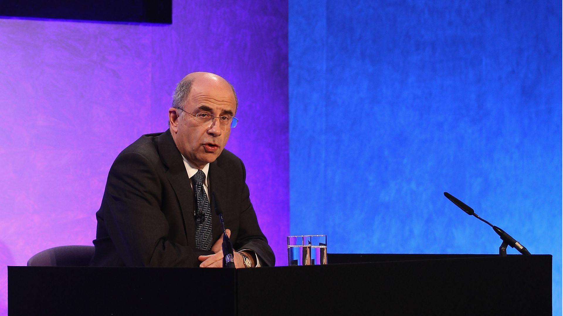 Lord Justice Leveson delivers his findings into the Leveson Report - Credit: Getty Images