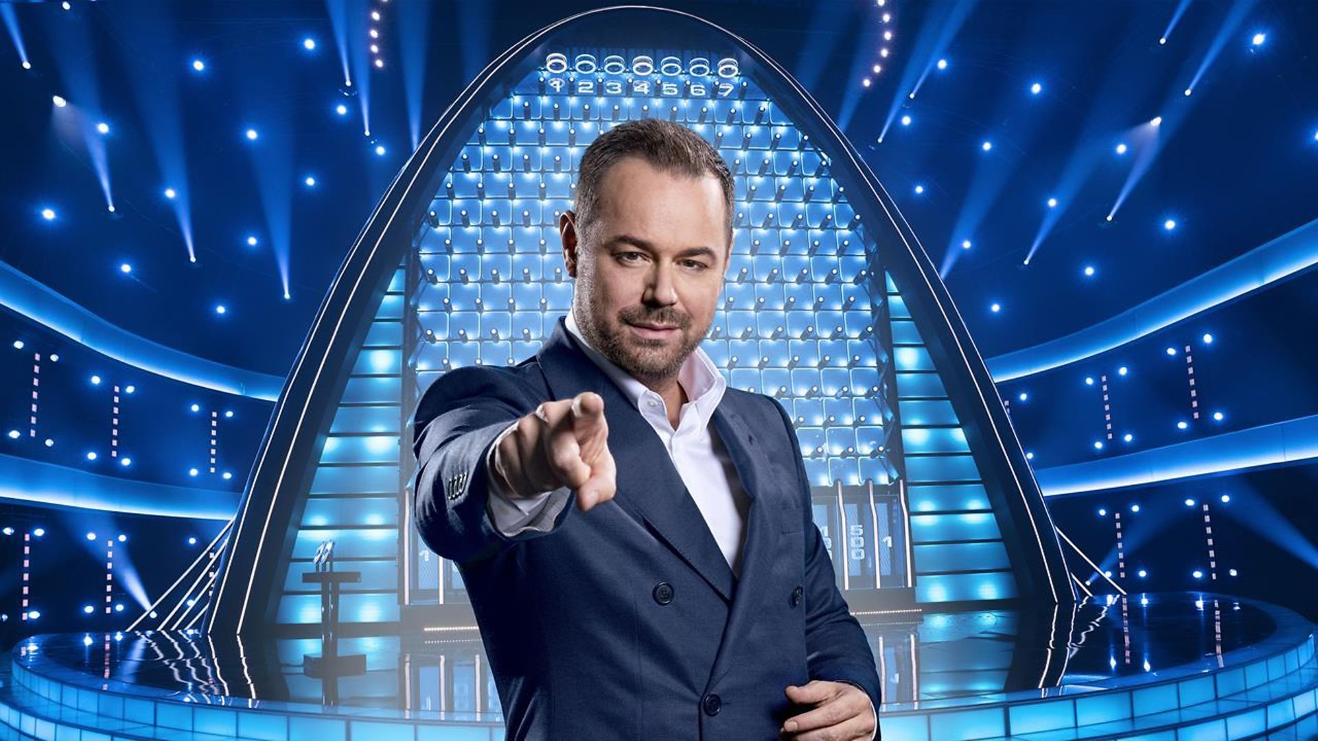 Danny Dyer On BBC's One The Wall - Credit: BBC