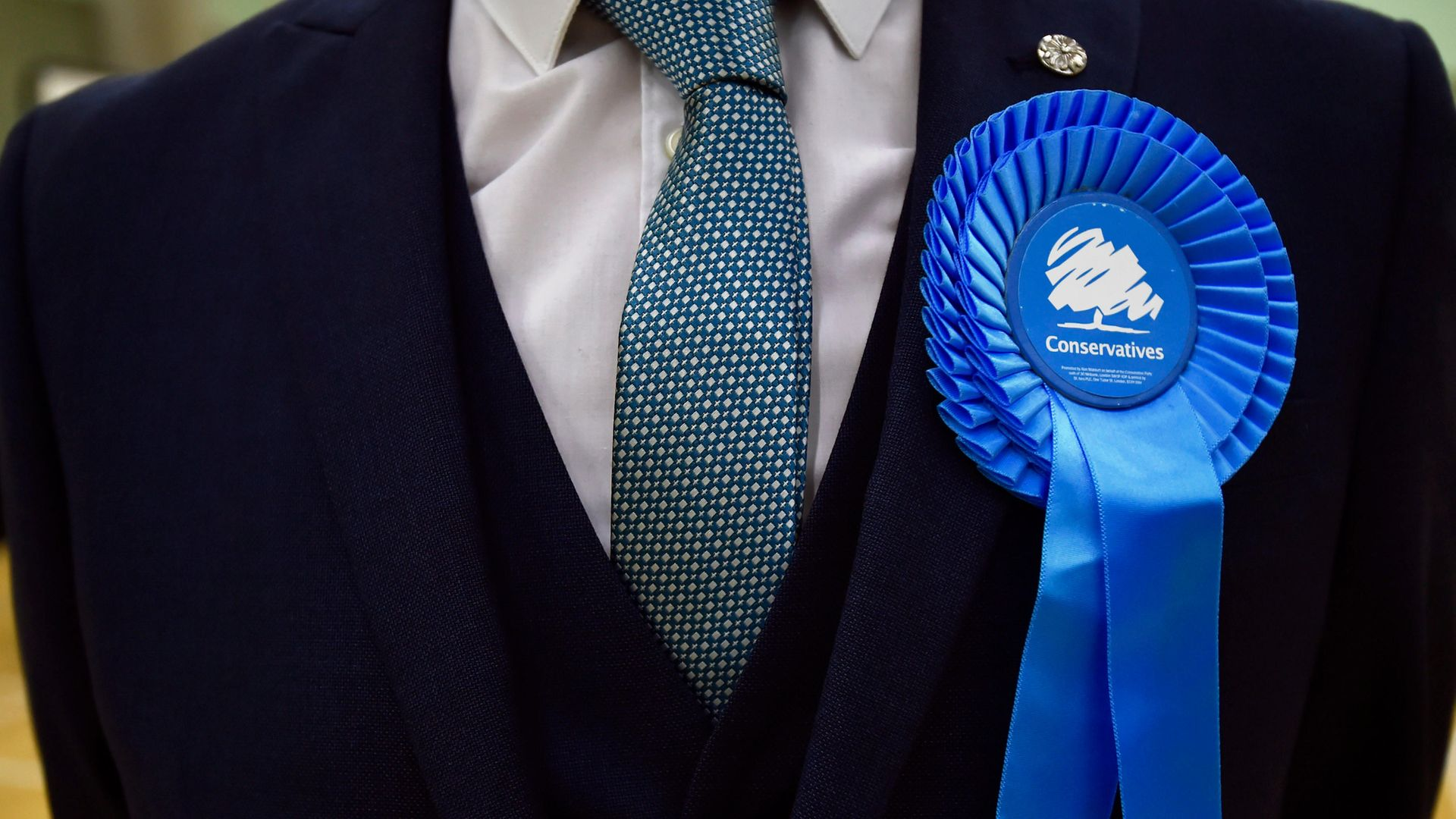 Picture of a Conservative Party rosette - Credit: PA