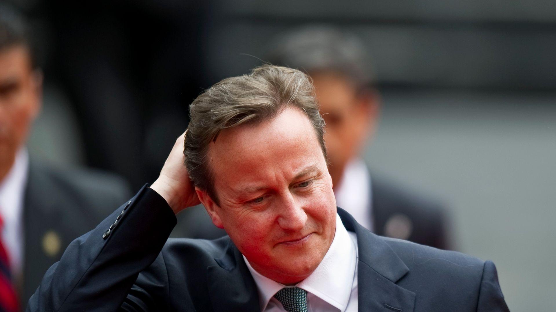 Former British prime minister David Cameron - Credit: AFP via Getty Images