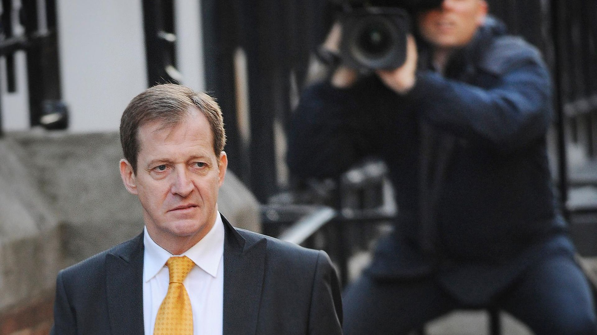 Alastair Campbell, former Director of Communications to Tony Blair, arrives at the High Court to give evidence to the Leveson Inquiry. - Credit: PA