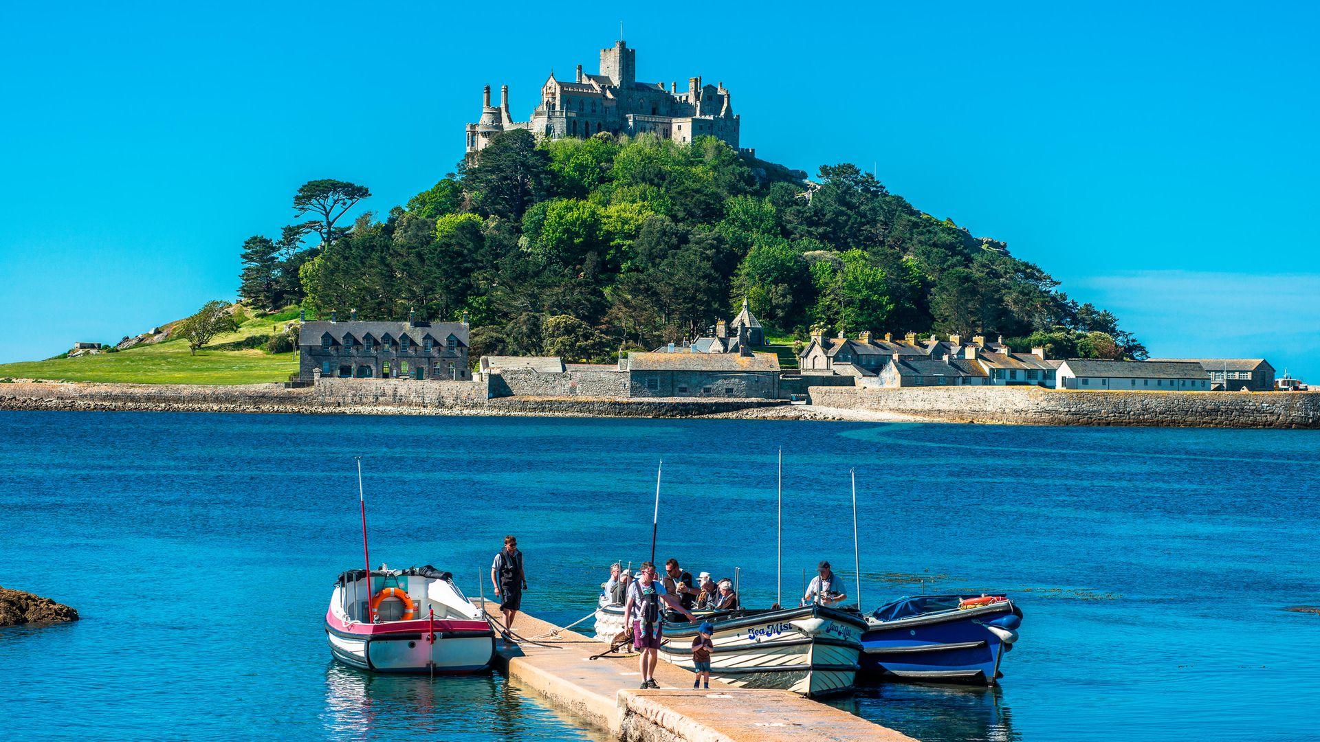 St Michael's Mount, Marazion, Cornwall - Credit: Education Images/Universal Image