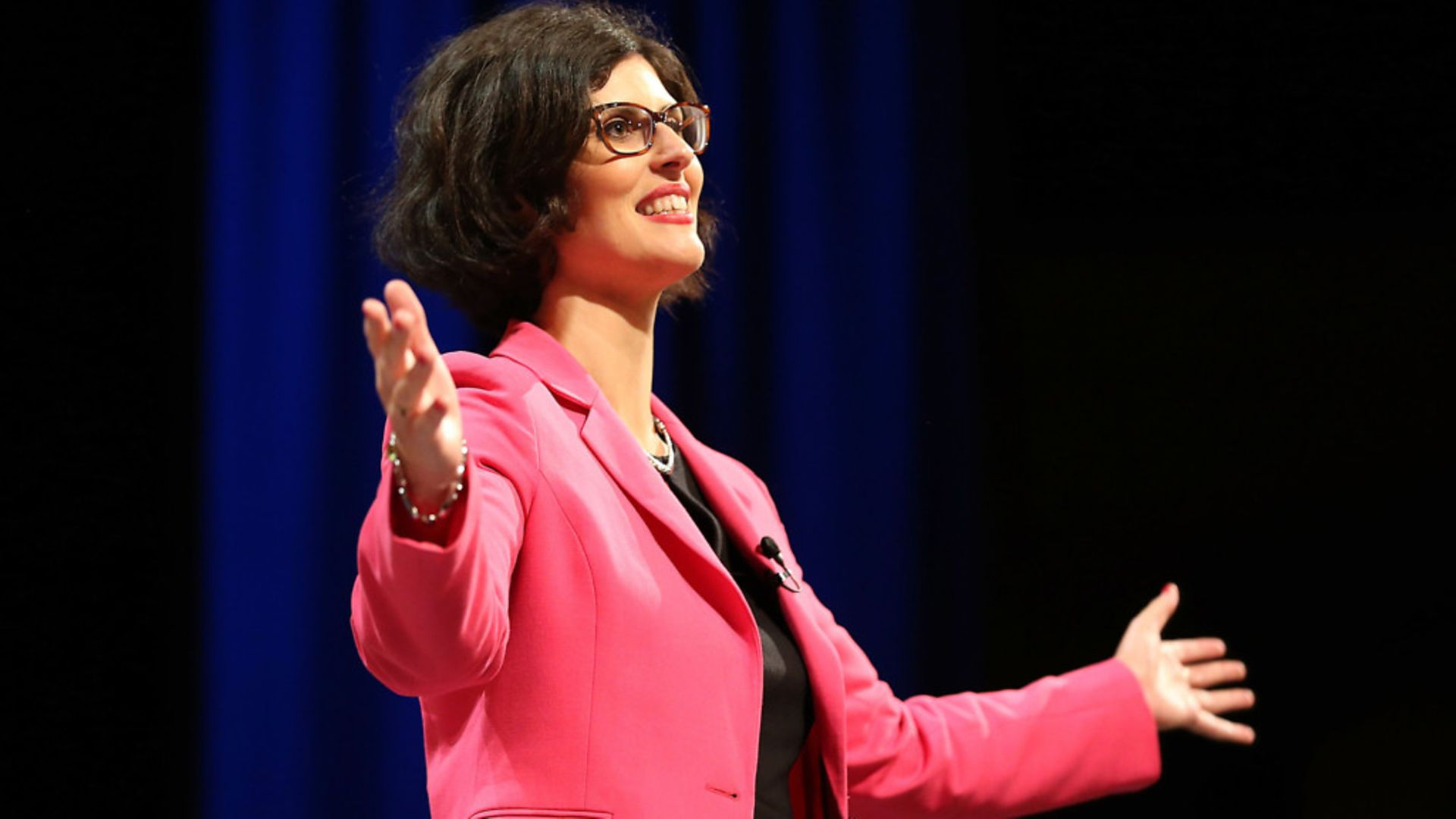 Layla Moran MP making a speech at a previous Lib Dem conference - Credit: PA Archive/PA Images