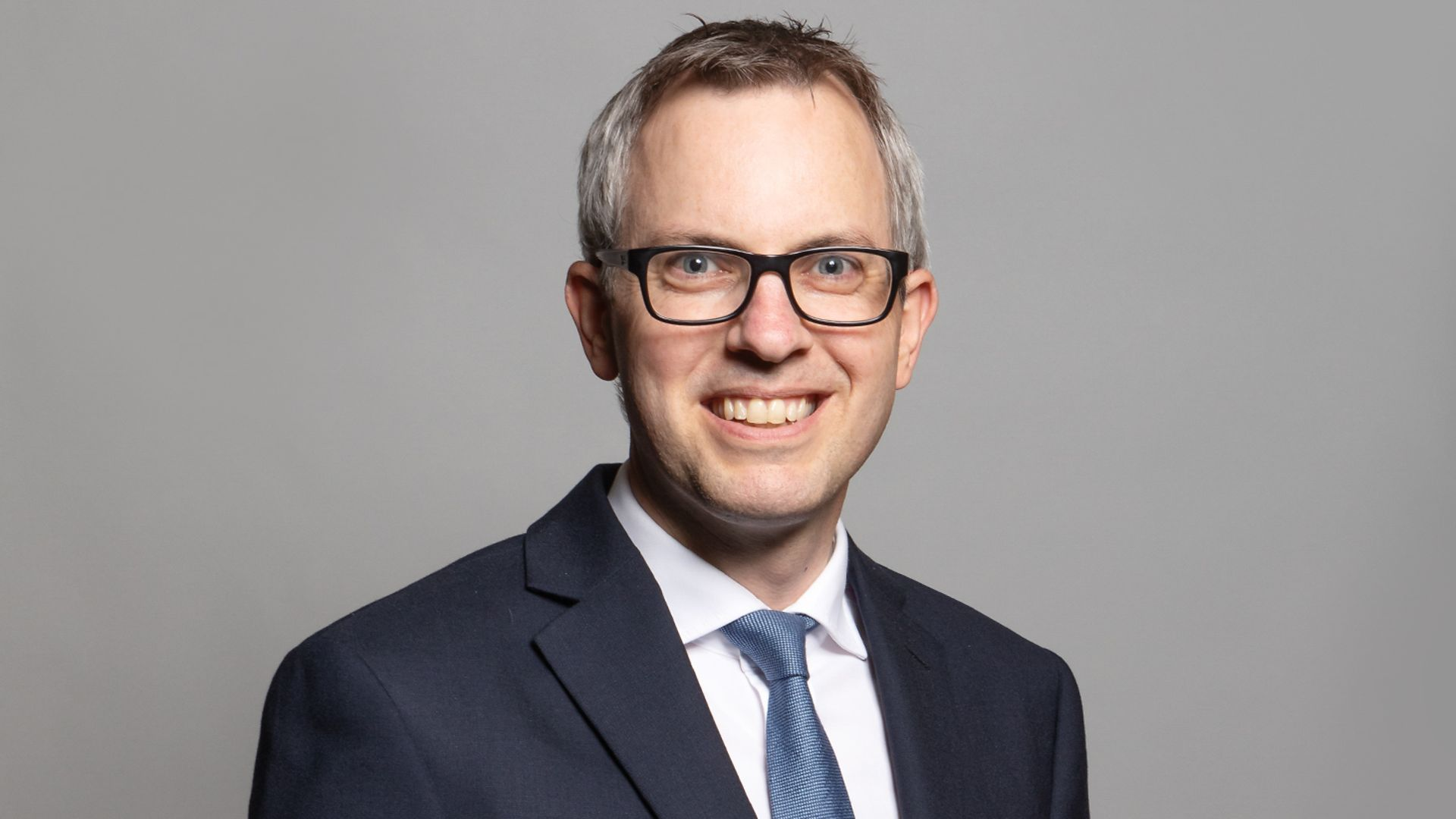 Tory MP James Wild (pictured above) claimed licence fee payers want the Union flag to feature more frequently on BBC documents - Credit: Richard Townshend/Houses of Parliament