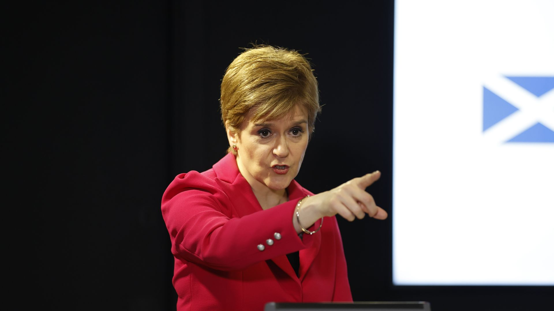Scotland's first minister Nicola Sturgeon - Credit: PA