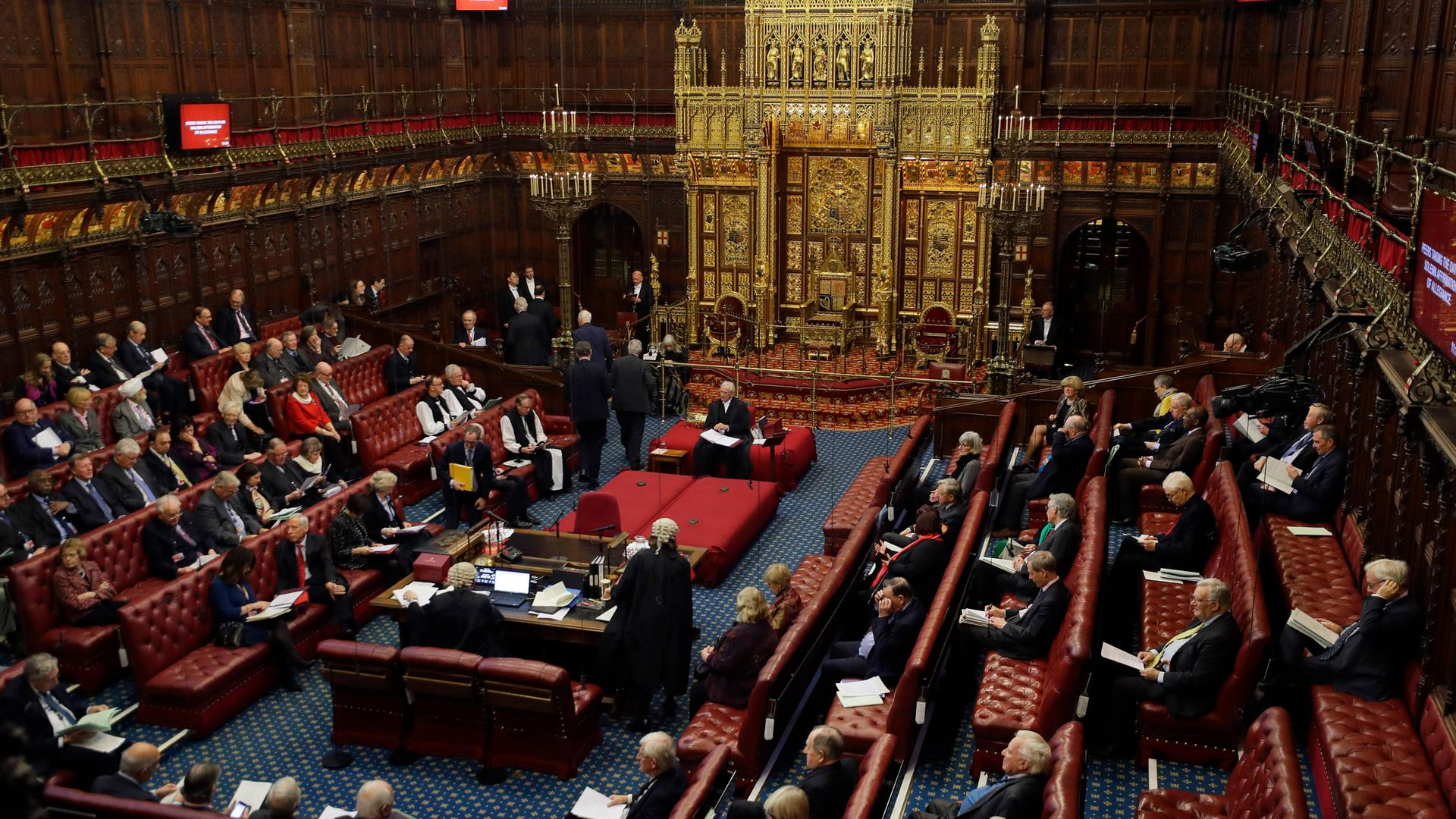 General view of the House of Lords in London - Credit: PA