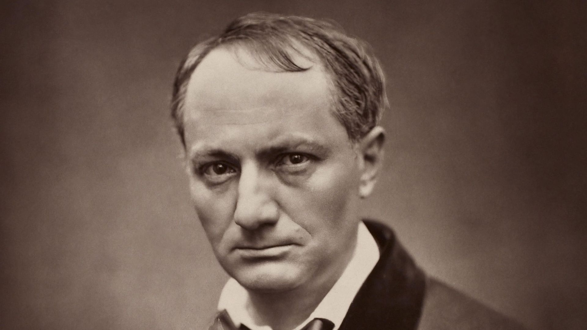 Charles Baudelaire in Etienne Carjat's portrait, from 1862 - Credit: Universal Images Group via Getty