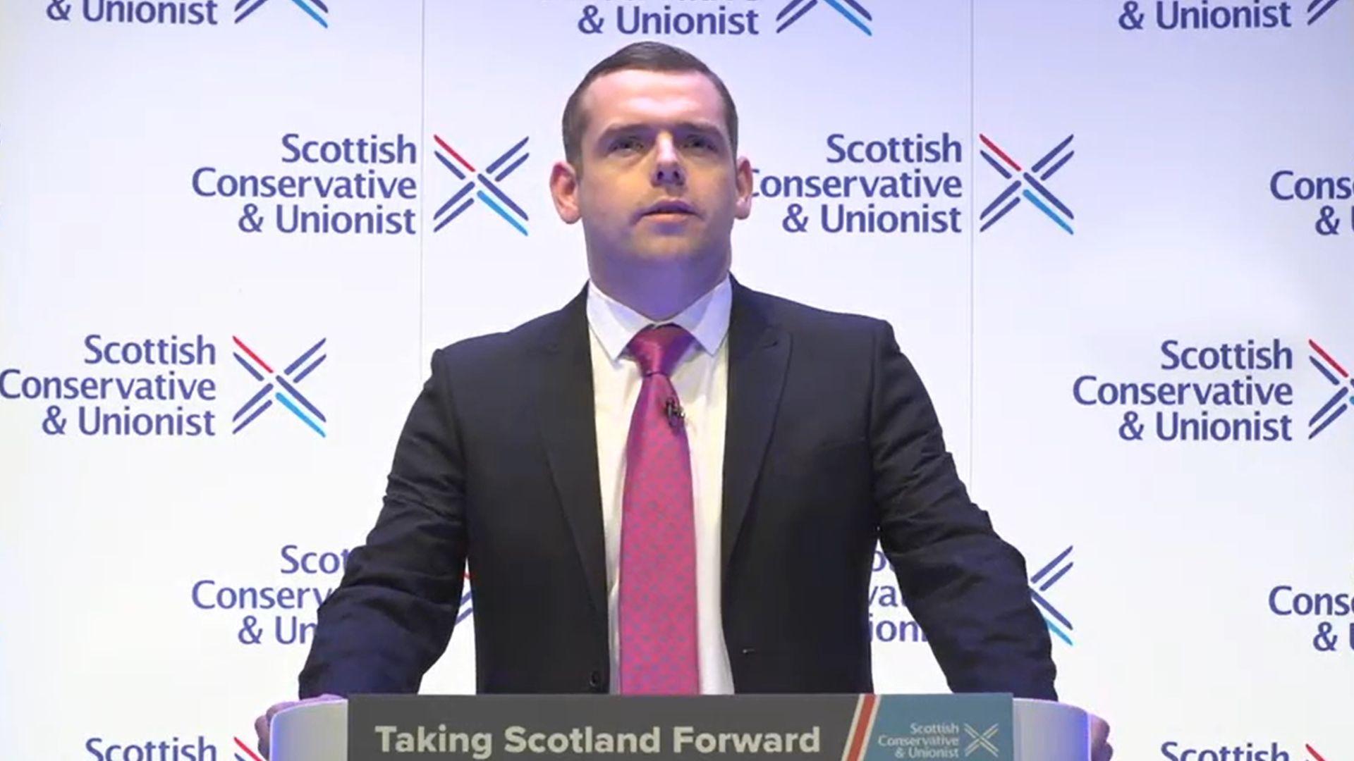 Scottish Conservative Leader Douglas Ross - Credit: PA