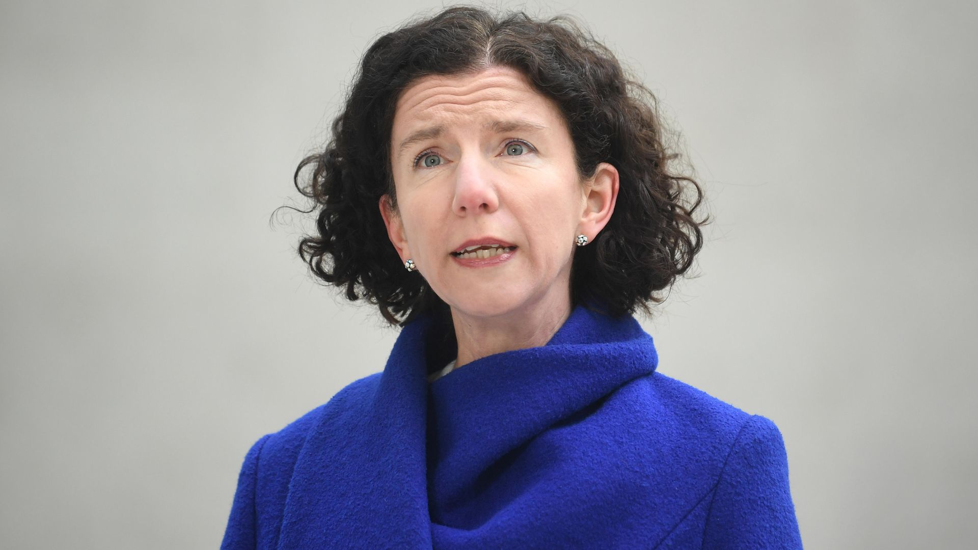 Shadow chancellor Anneliese Dodds arriving at BBC Broadcasting House in central London - Credit: PA