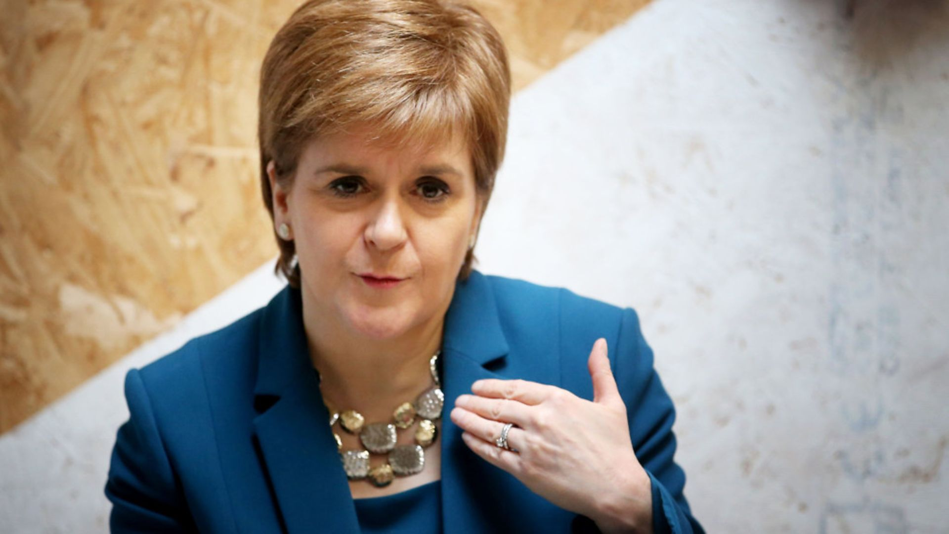 Scottish first minister Nicola Sturgeon - Credit: PA Wire/PA Images