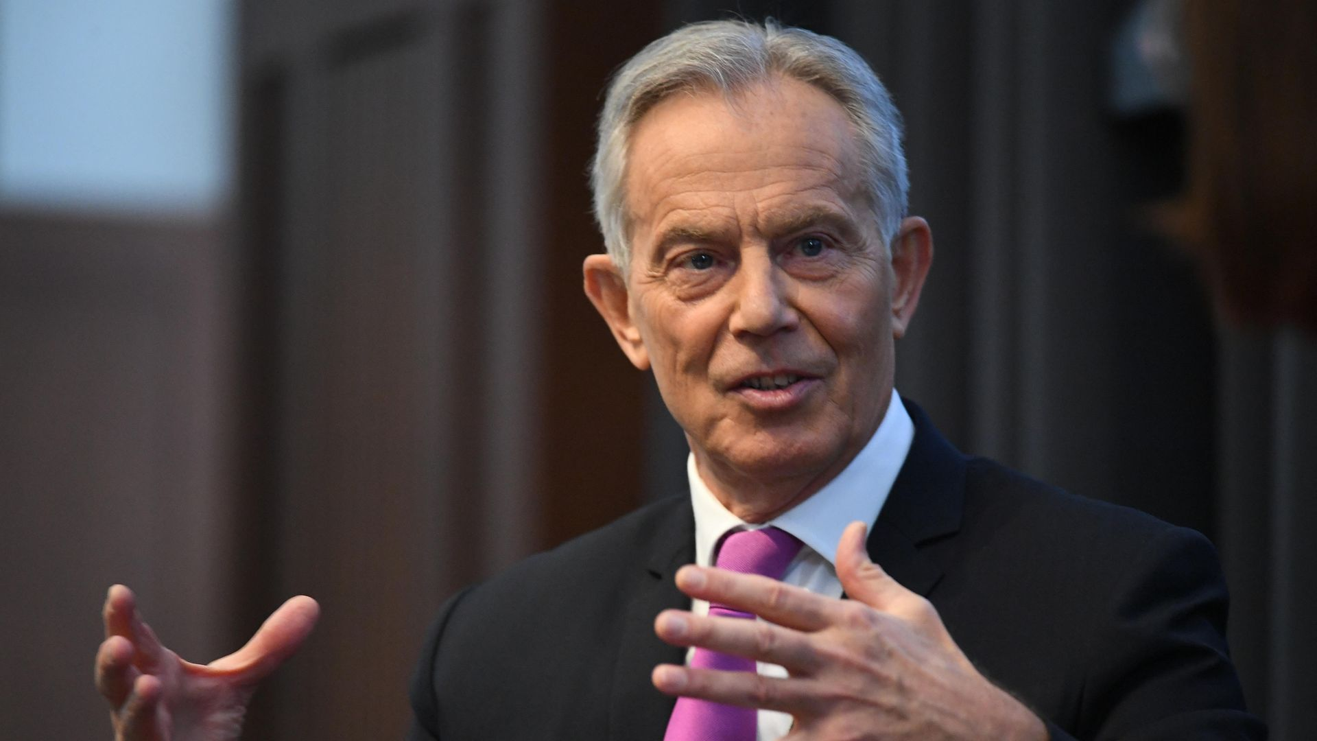 Former prime minister Tony Blair, who has said he did not enjoy being the prime minister due to the huge responsibility it entailed - Credit: PA