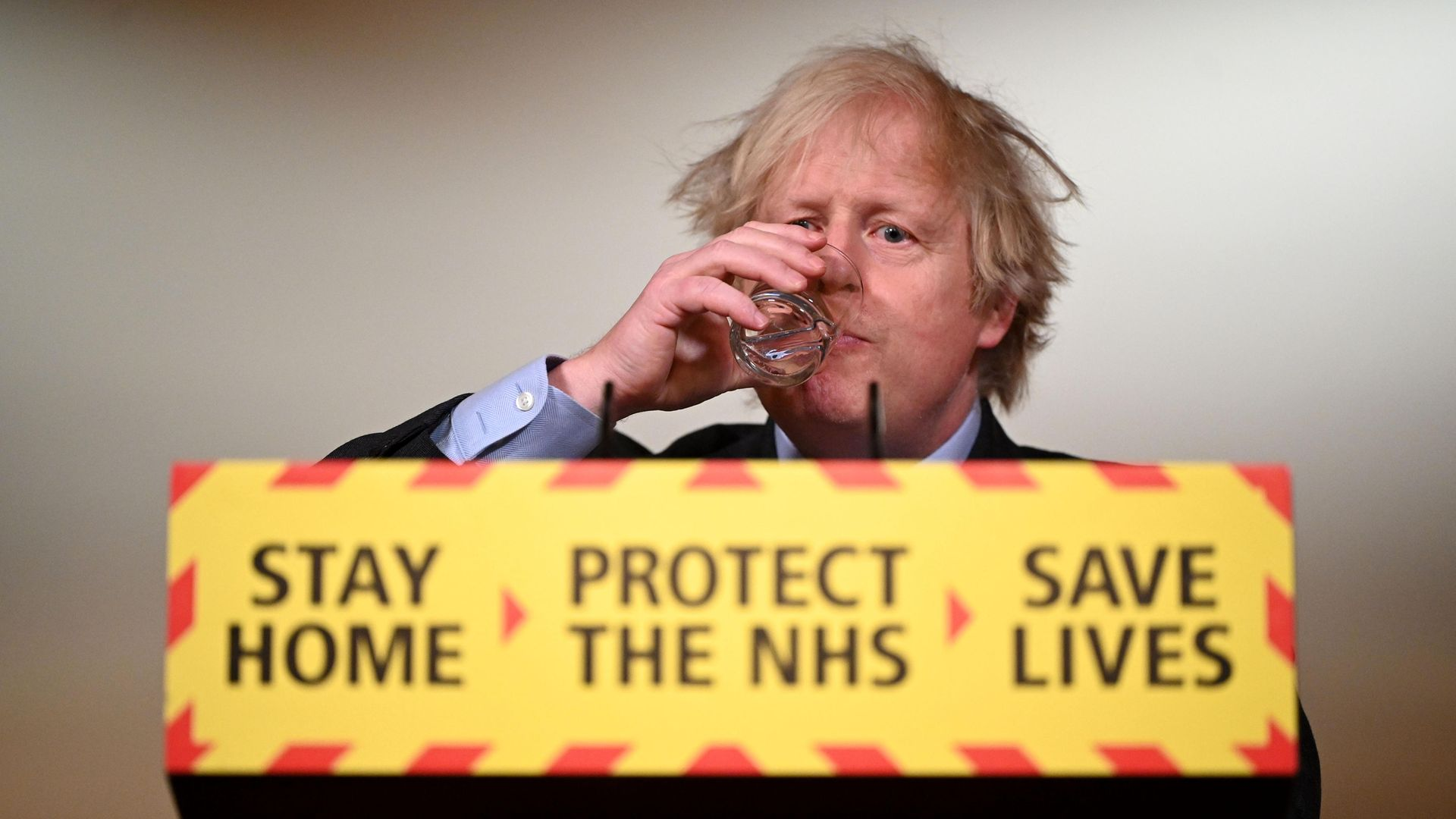 Prime Minister Boris Johnson takes questions from the media on his coronavirus strategy - Credit: PA