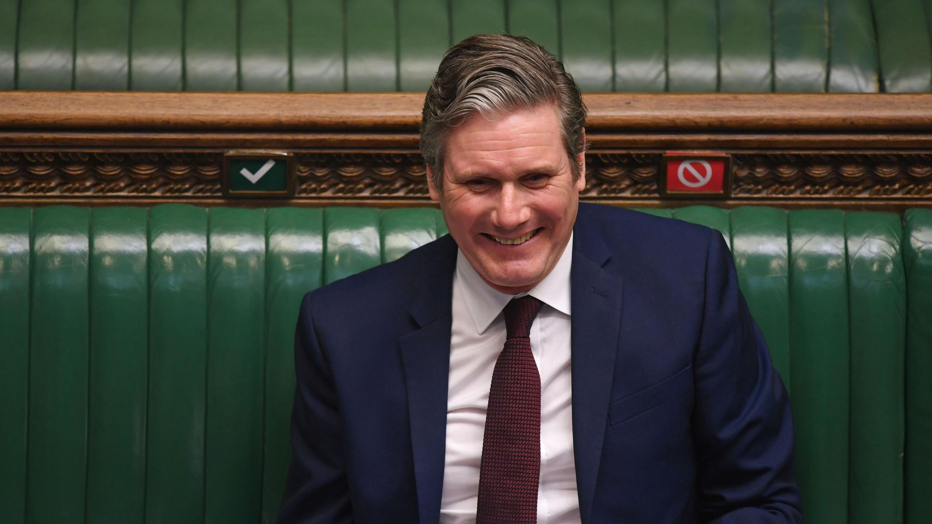 Sir Keir Starmer in the House of Commons - Credit: PA