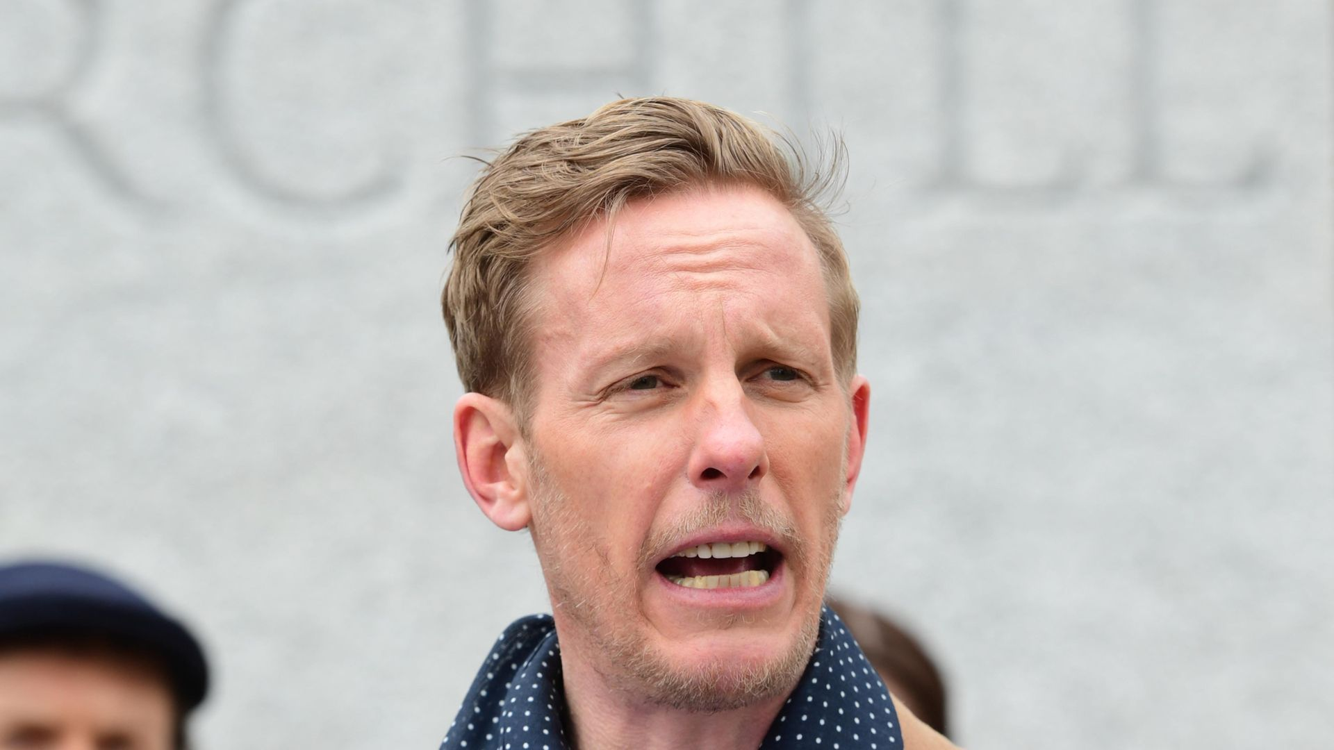 Leader of the Reclaim Party, Laurence Fox, at the launch of their party manifesto for the London Mayoral election, in Parliament Square, Westminster, central London - Credit: PA