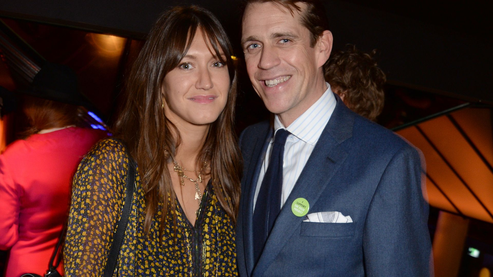 Ben Elliot, and his wife Mary-Clare, in November 2018 - Credit: Dave Benett/Getty Images