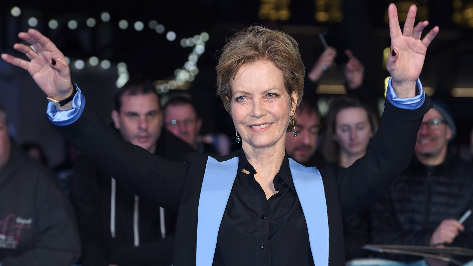 """Actor Jenny Seagrove attends the World Premiere of """"Another Mother's Son"""" at the Odeon Leicester Square on March 16, 2017 - Credit: Photo by Karwai Tang/WireImage"""