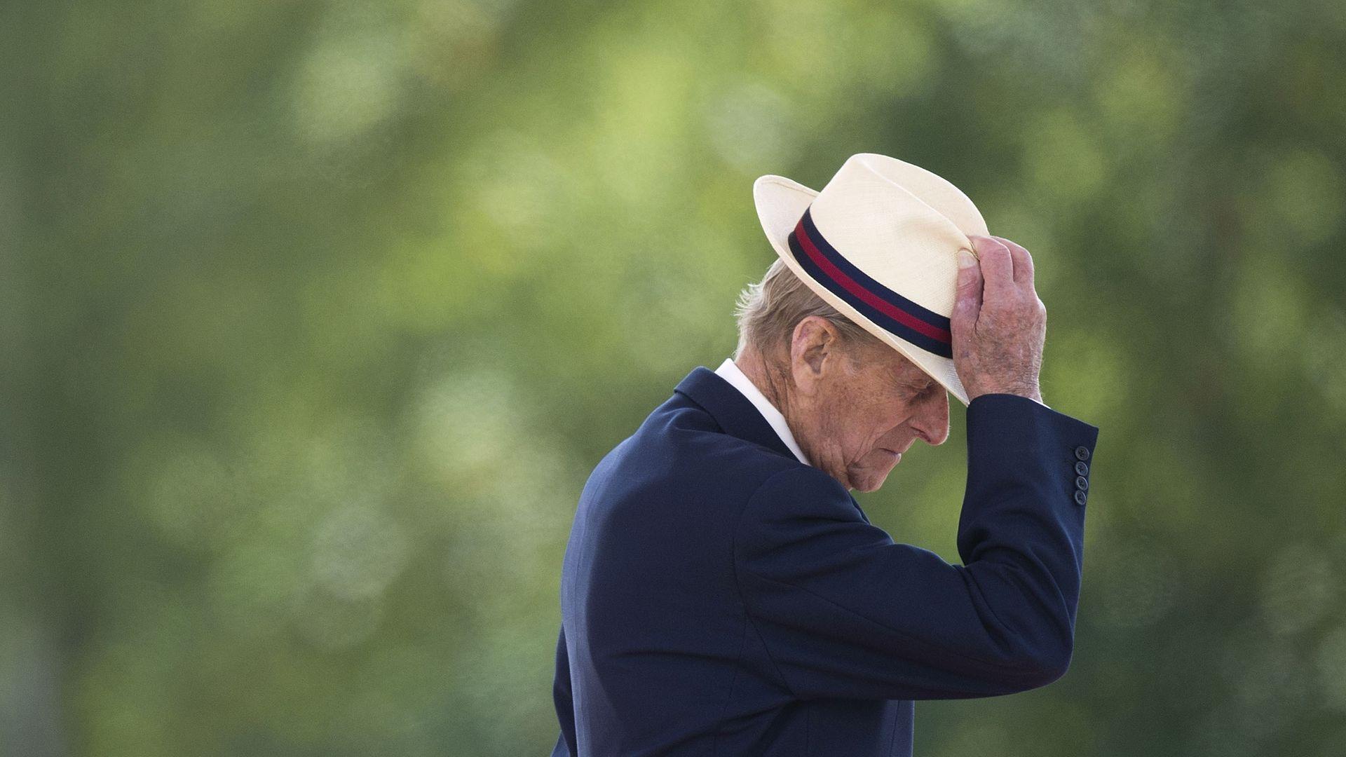 Prince Philip, Duke of Edinburgh in Fallingbostel, Germany, in 2014 - Credit: Getty Images