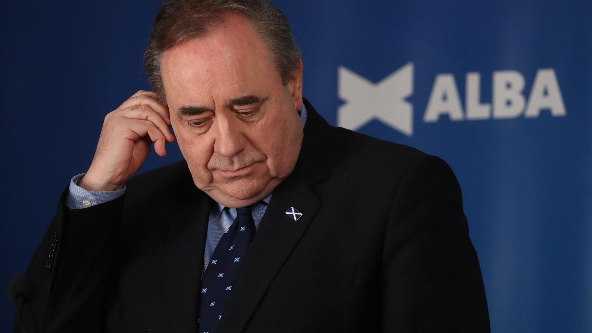 ALBA Party leader and former first minister of Scotland, Alex Salmond - Credit: PA