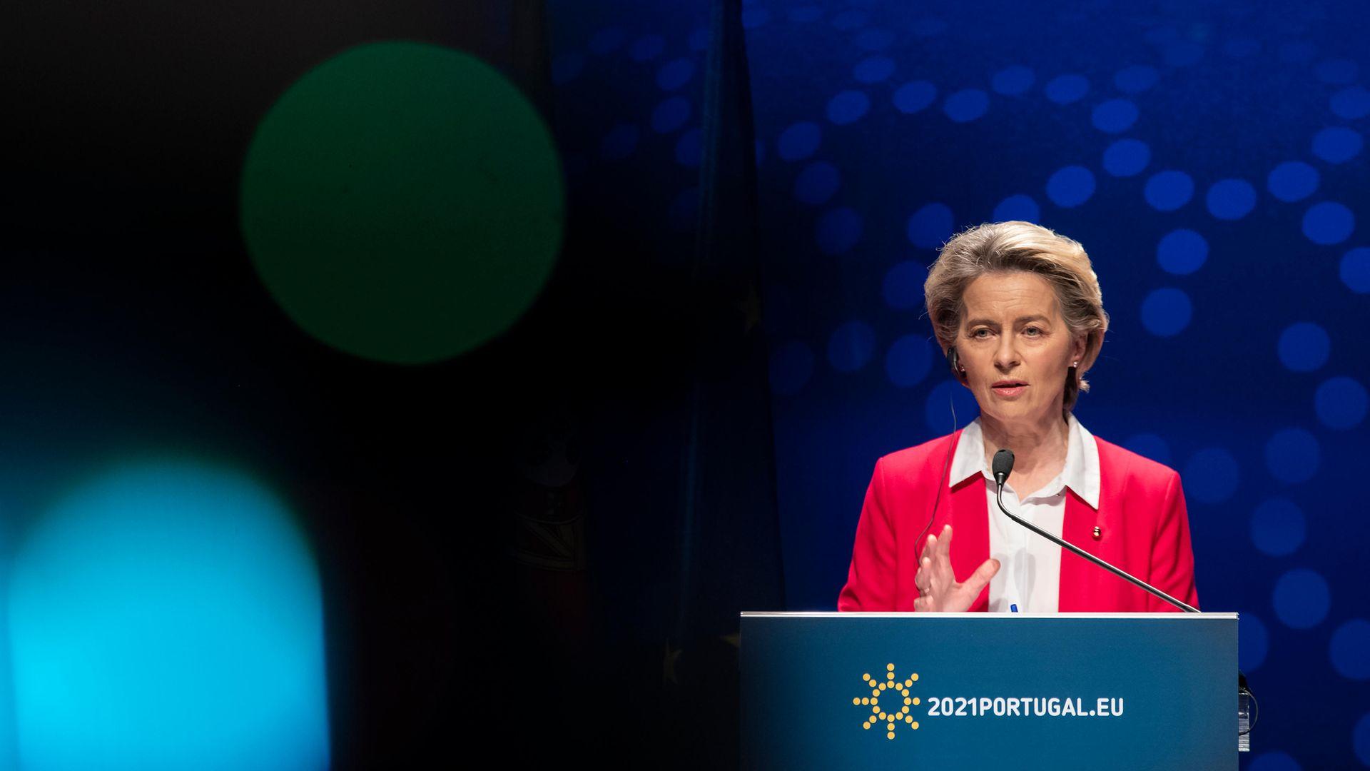 President of the European Commission, Ursula von der Leyen - Credit: SOPA Images/LightRocket via Gett