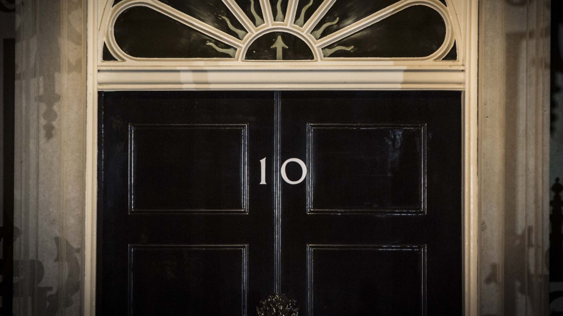 The front door of 10 Downing Street in Westminster - Credit: PA Archive/PA Images