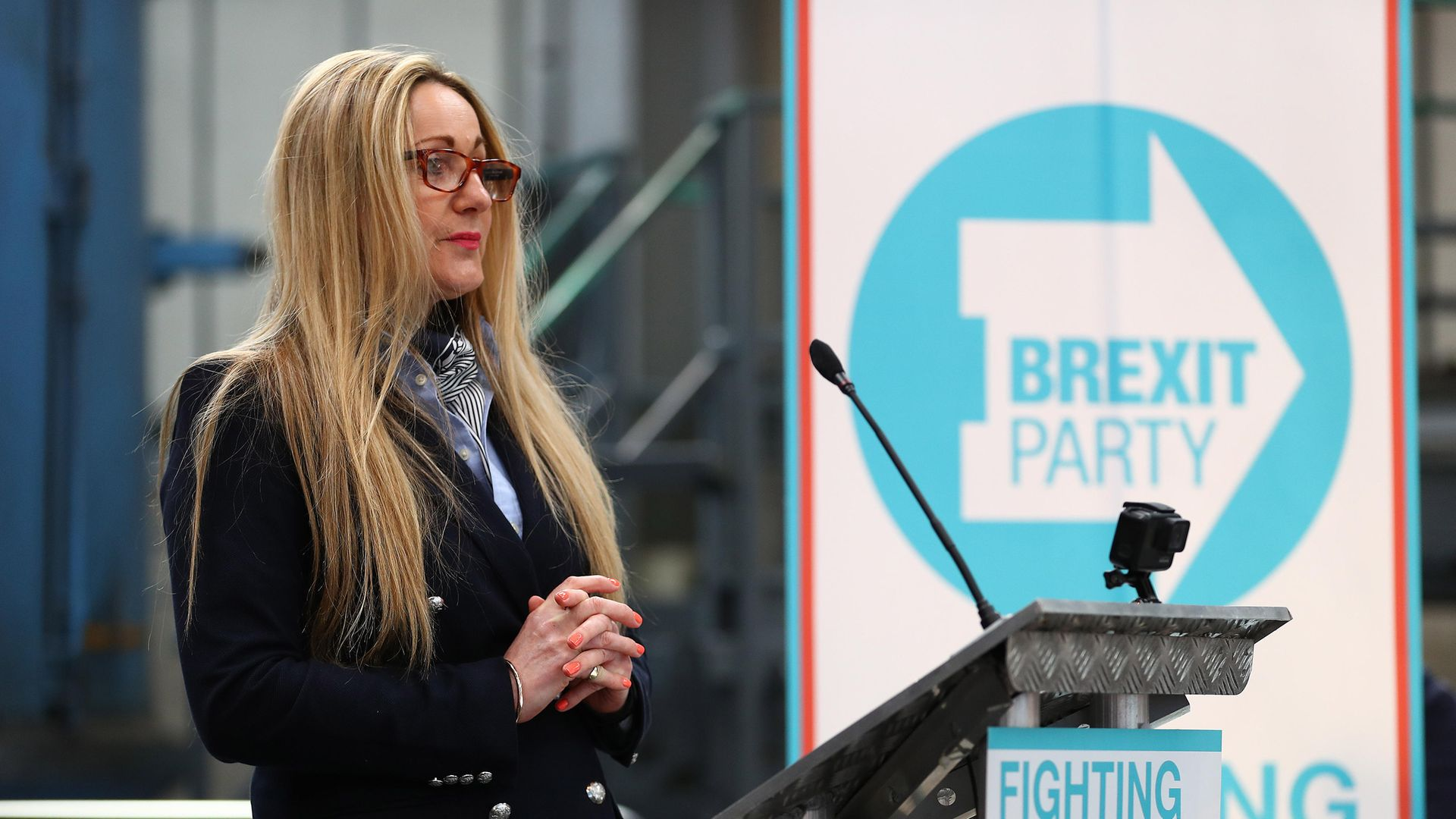 Former Brexit Party MEP June Mummery, who retweeted an article featuring a Leave voter saying he regretted voting for Brexit - Credit: Photo by Matthew Lewis/Getty Images