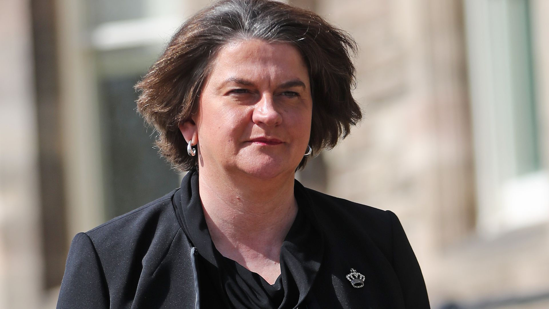 First minister Arlene Foster denies her party is boycotting the north-south political meetings in protest at the Northern Ireland Protocol - Credit: PA