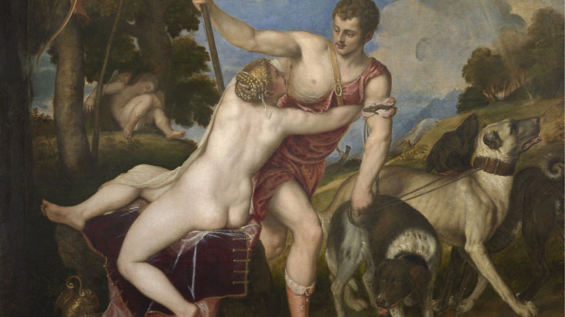 Titian's 'Venus and Adonis' (1554). Picture: The National Gallery - Credit: Archant