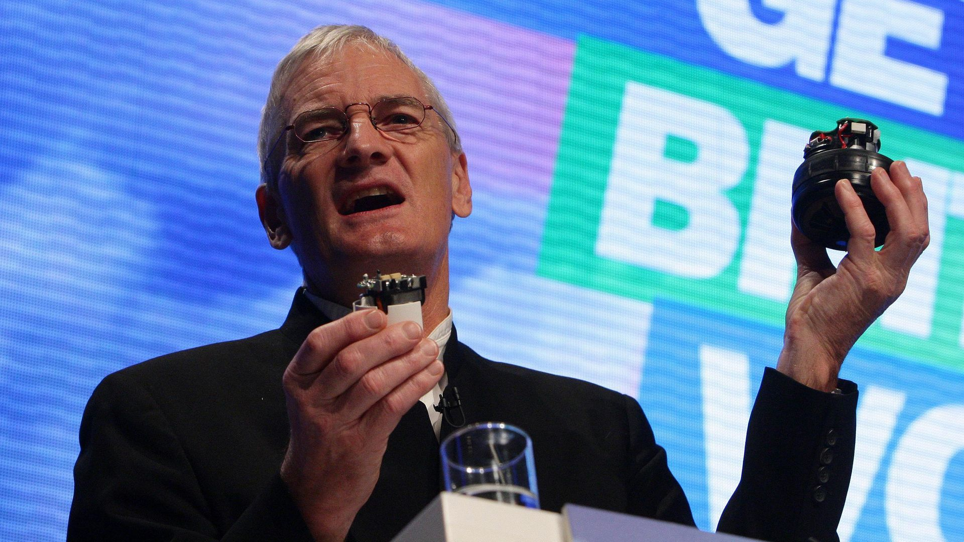 Sir James Dyson (pictured above) has denied texts he sent to Boris Johnson broke government lobbying rules - Credit: PA