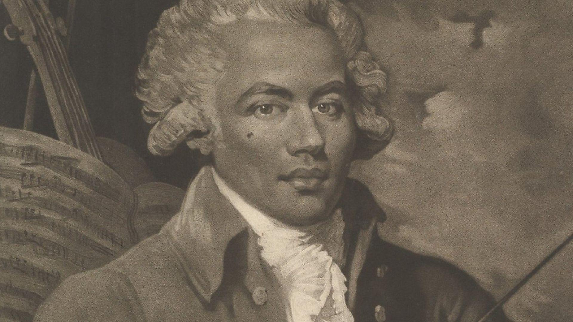 Monsieur de St. George, April 4, 1788. Artist William Ward. (Photo by Heritage Art/Heritage Images via Getty Images) - Credit: Heritage Art/Heritage Images via