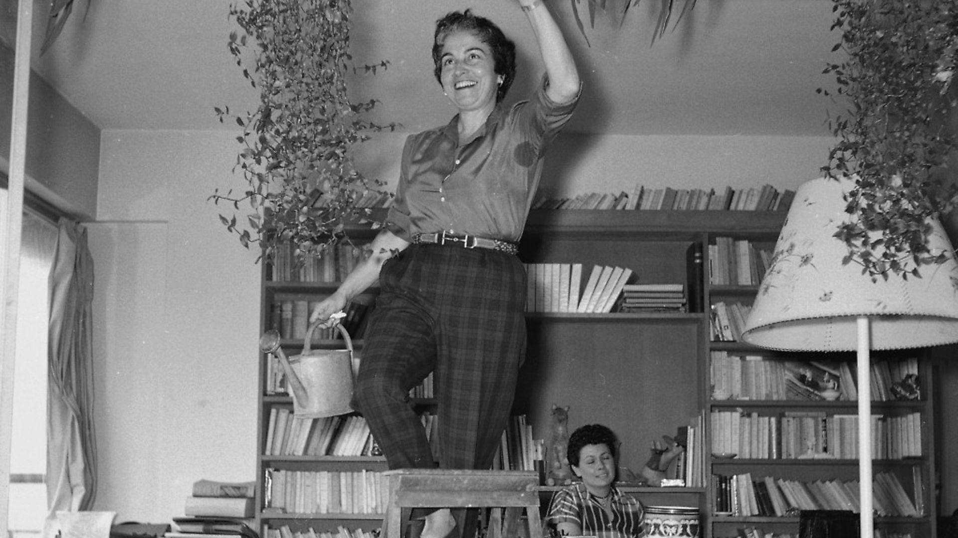 Jacqueline Audry (1908-1977), French film-maker in 1955. Photo: Gaston Paris - Credit: Roger Viollet via Getty Images