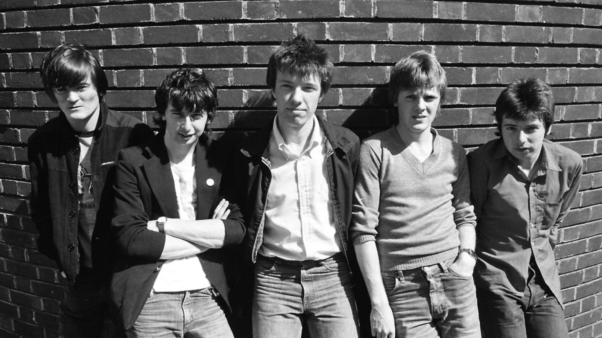 The Undertones. 15th May 1980. (Photo by Bill Kennedy/Mirrorpix via Getty Images) - Credit: Getty Images