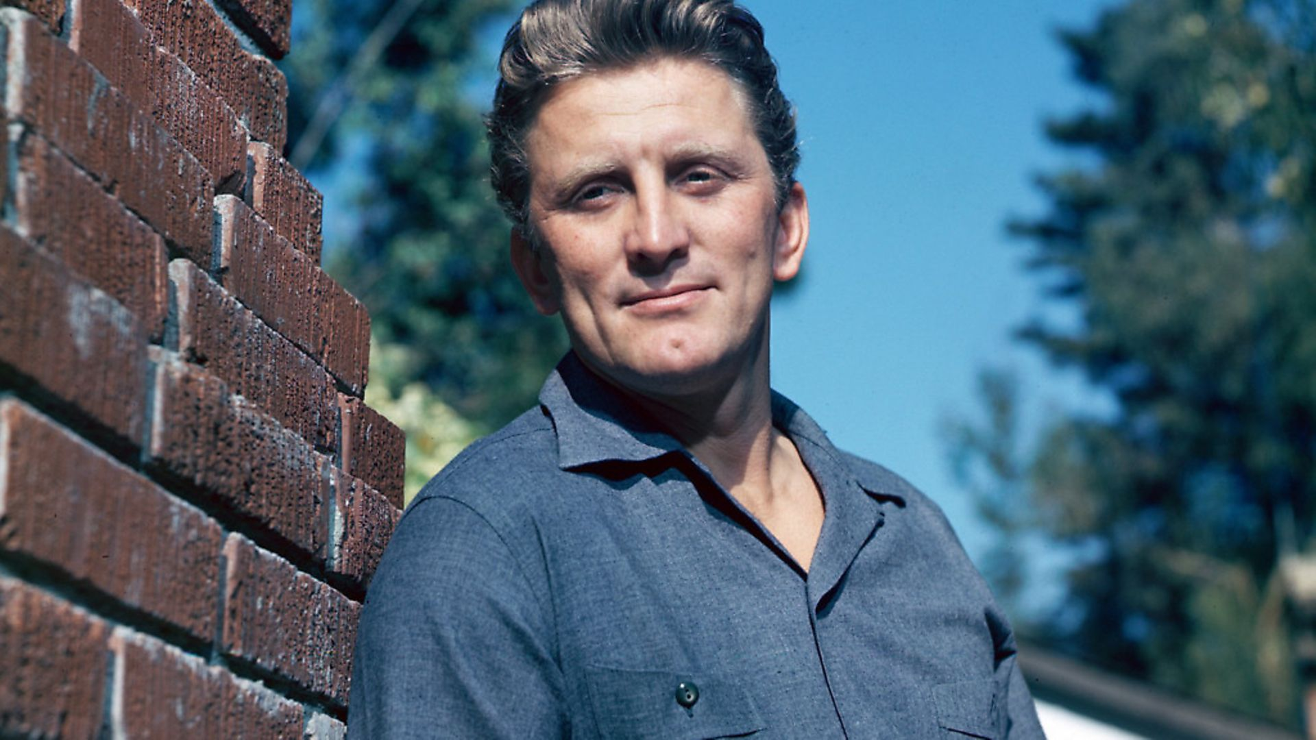 American actor Kirk Douglas, circa 1955. Photo: Getty Images - Credit: Getty Images