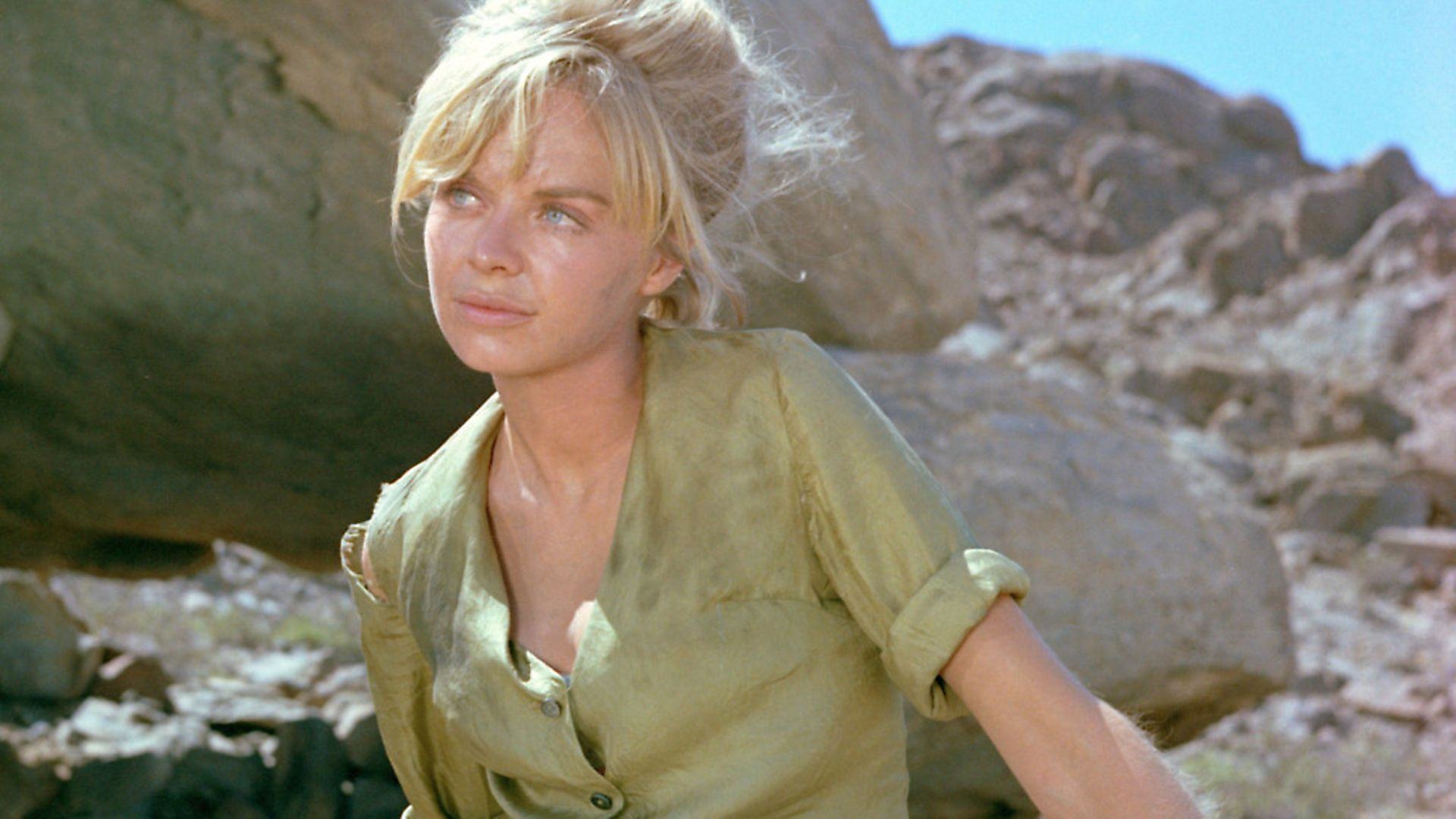 Actress Susannah York as Grace Monckton in the film 'Sands of the Kalahari', 1965. Picture: Getty Images - Credit: Getty Images
