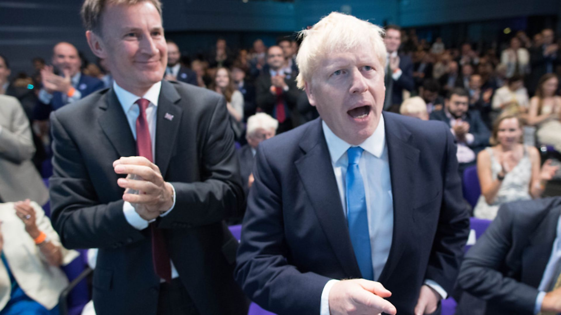 Jeremy Hunt and Boris Johnson were both leadership rivals in 2019. Picture: Stefan Rousseau/PA Wire/PA Images - Credit: PA Wire/PA Images