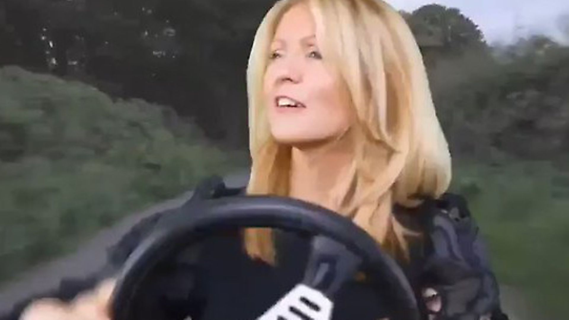 Esther McVey has baffled Twitter users with her latest video post. Photograph: Twitter. - Credit: Archant