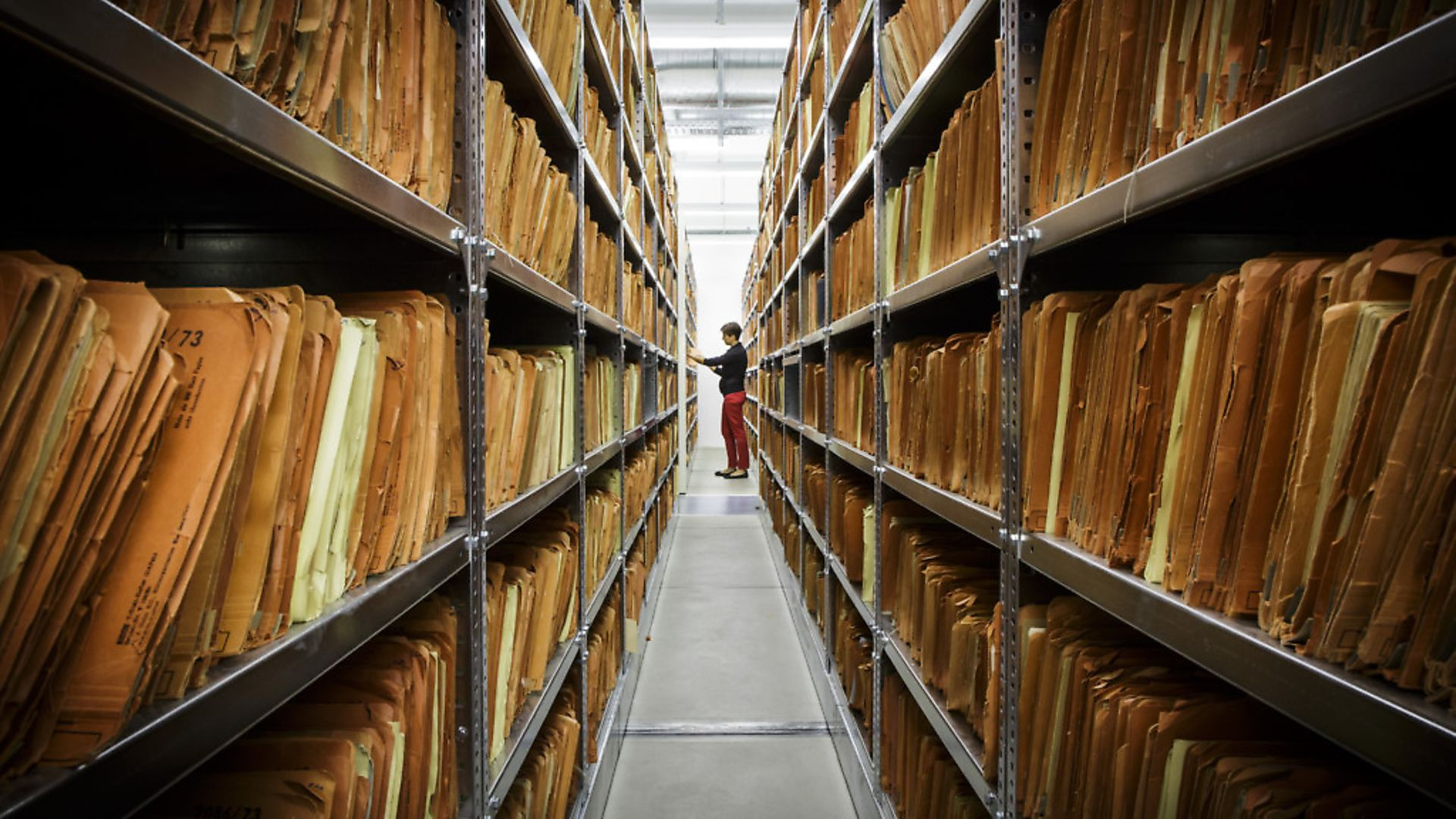 The archive of the Stasi - the former east German secret police - in Berlin. Picture: Thomas Trutschel/Photothek via Getty Images - Credit: Photothek via Getty Images