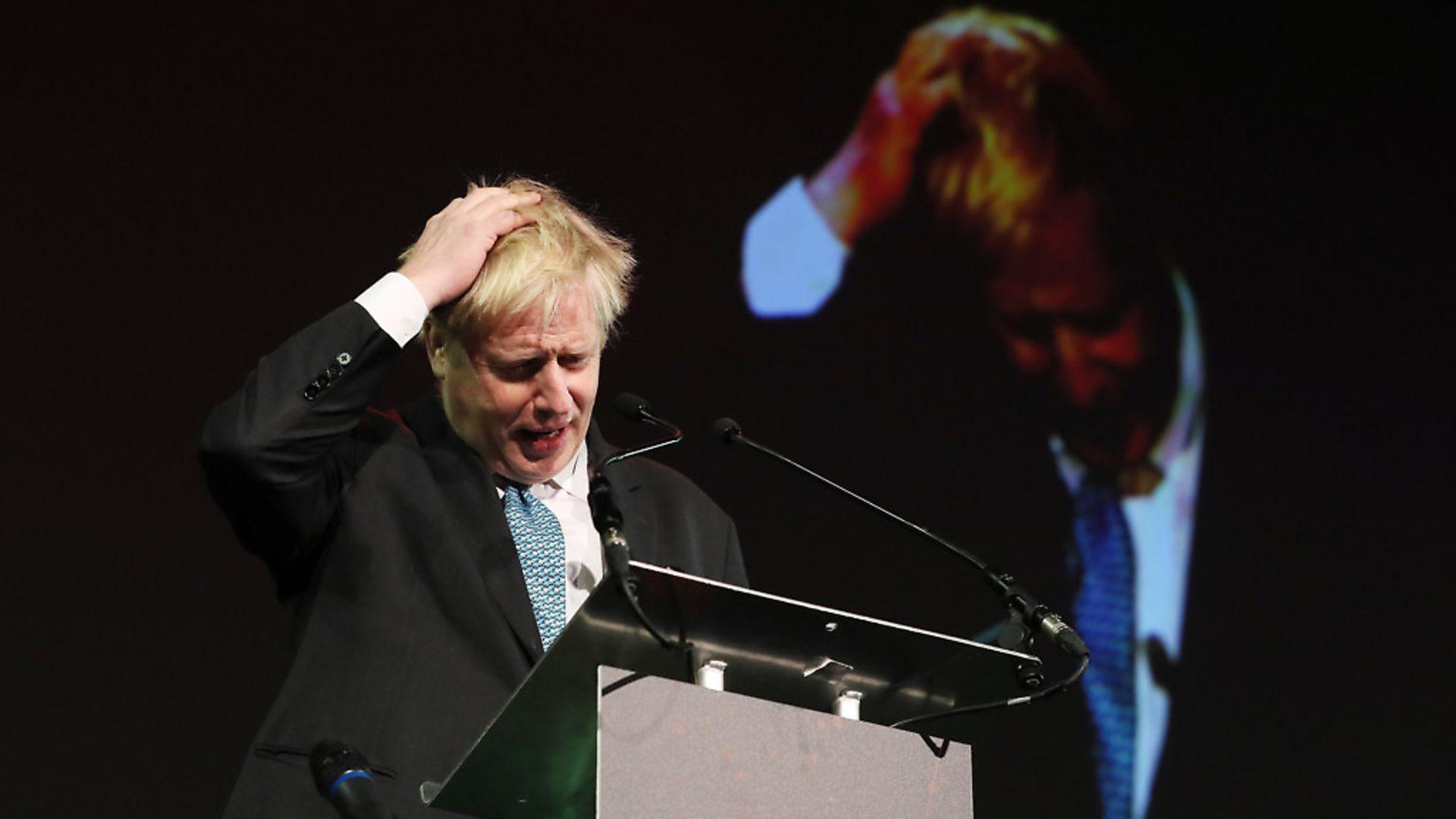 Boris Johnson. Photograph: Brian Lawless/PA. - Credit: PA Wire/PA Images