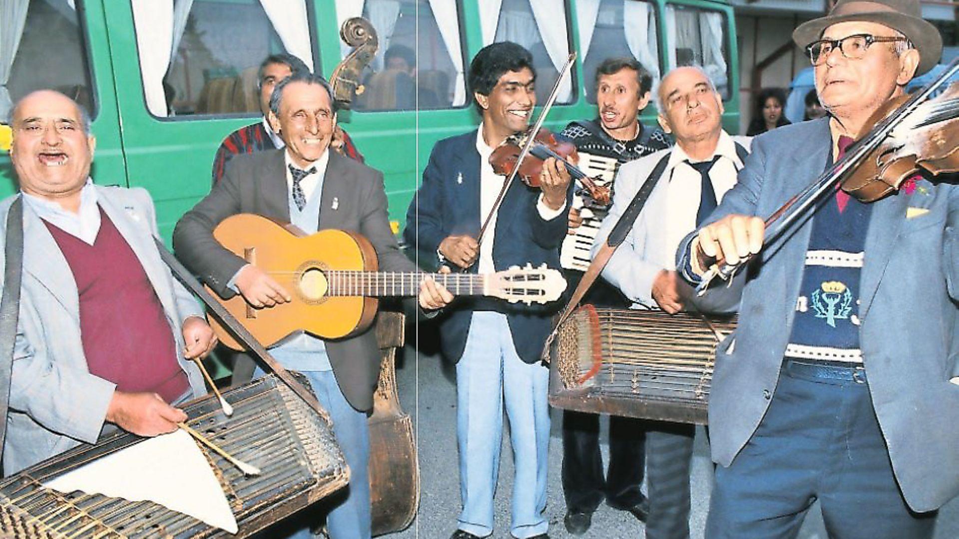 Romanian 'authentic' folk band Taraf de Haidouks. Phoco: Getty Images - Credit: Archant