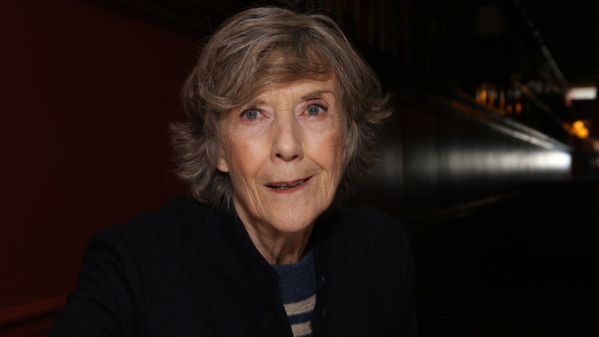 NEW YORK, NY - NOVEMBER 15:  Dame Eileen Atkins during the Eileen Atkins portrait unveiling at Sardi's on November 15, 2019 in New York City.  (Photo by Walter McBride/Getty Images) - Credit: Getty Images