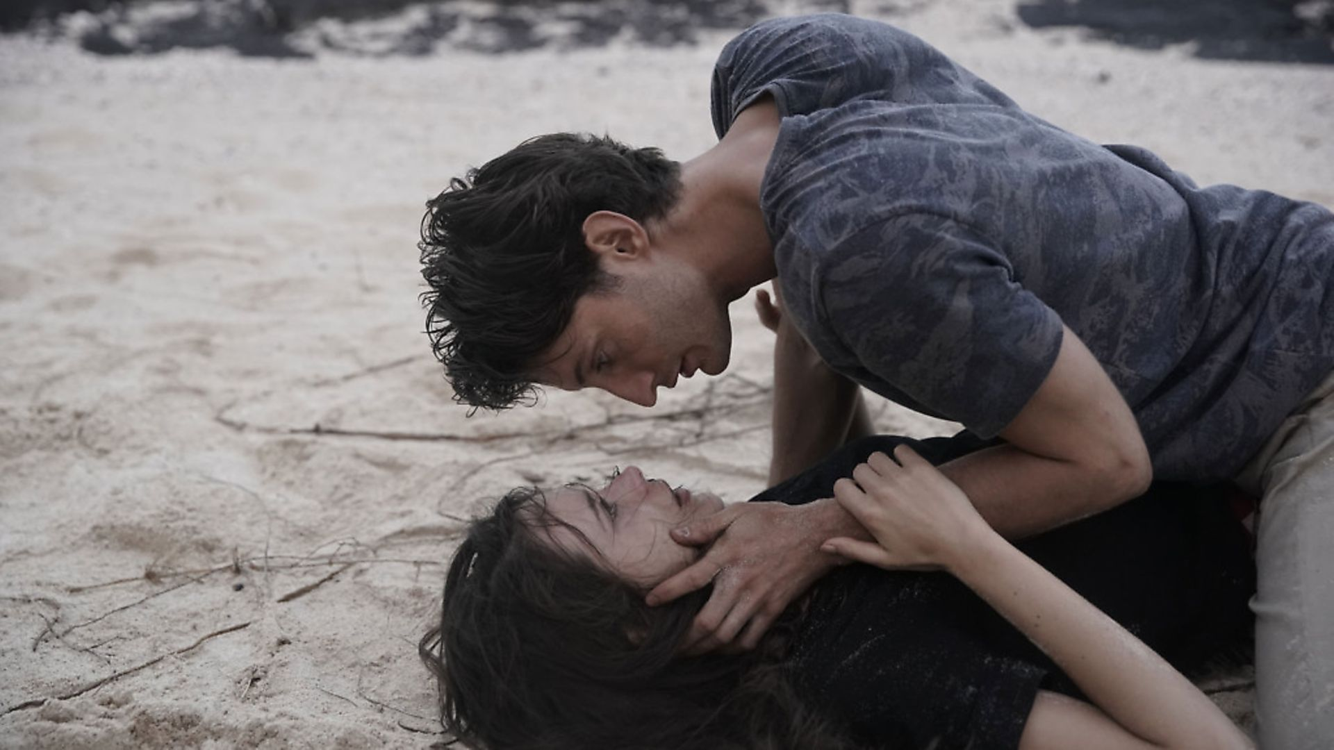 Pierre Niney and Stacy Martin in Amants. Photo: Roger Arpajou - Credit: Archant