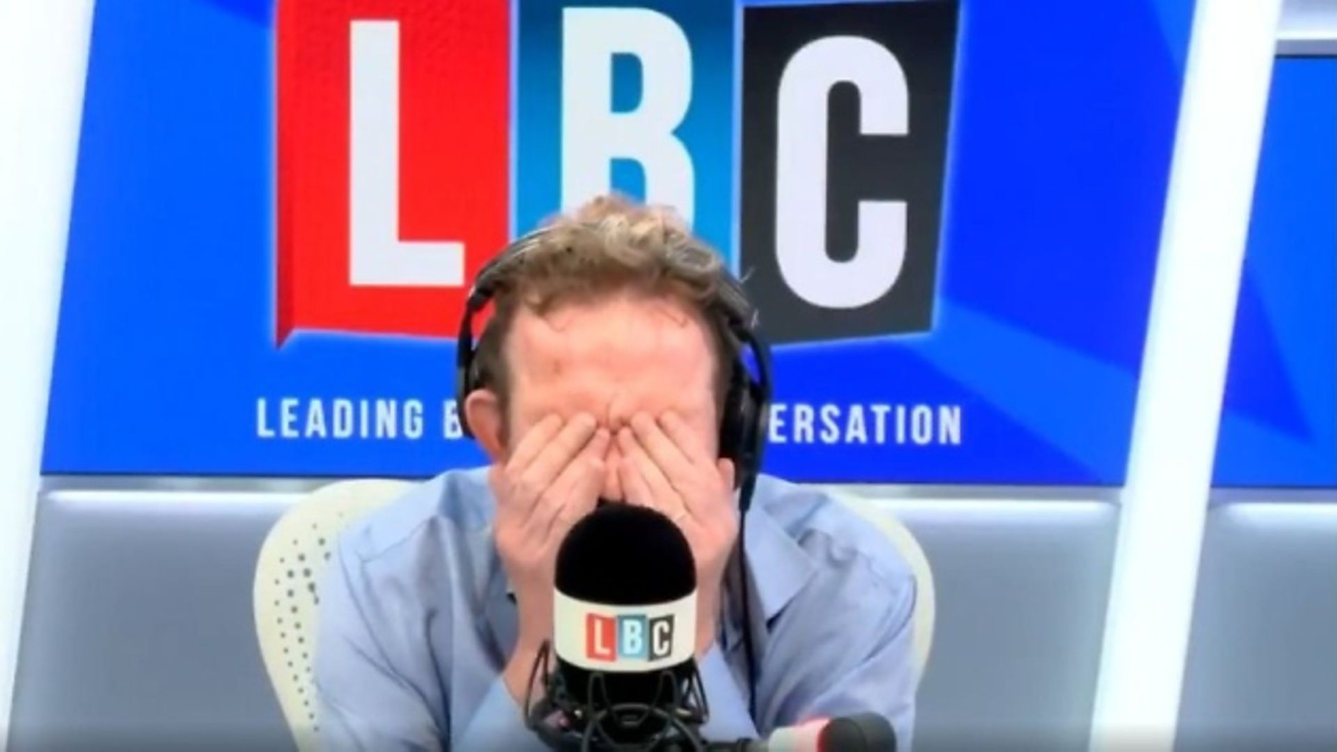 James O'Brien says it is 'frightening' to see a government advisor hounded on Twitter. Photograph: LBC.