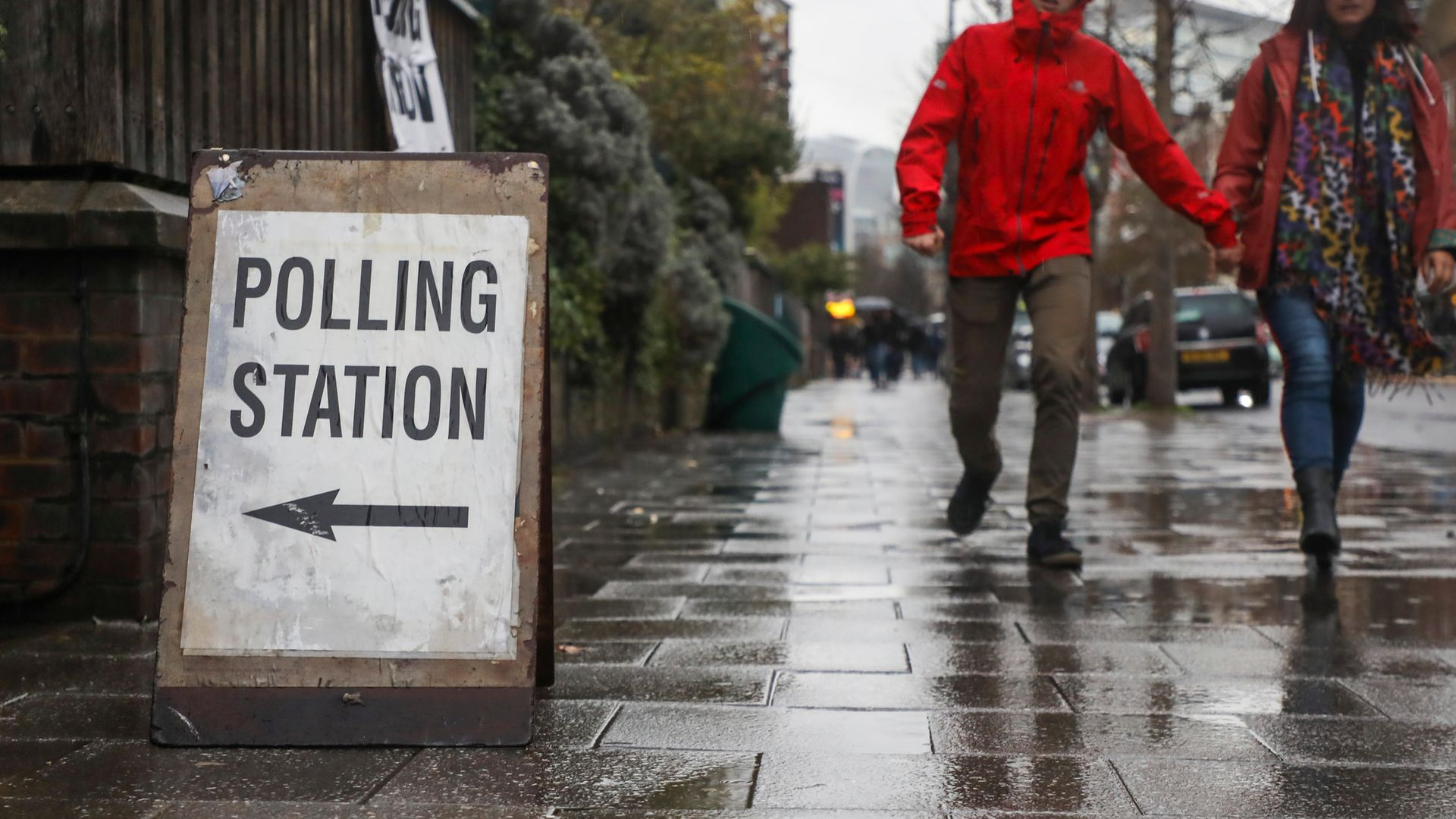 Voters head to polls for the December 2019 general election - Credit: NurPhoto via Getty Images