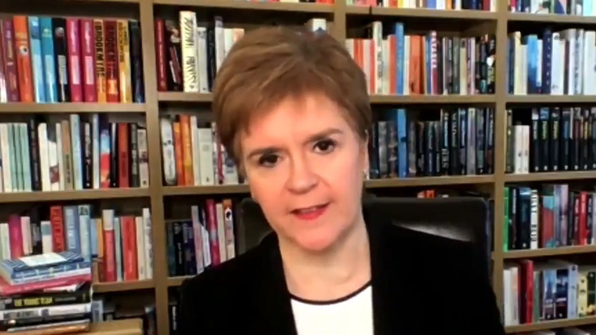 Nicola Sturgeon appears on Good Morning Britain - Credit: ITV