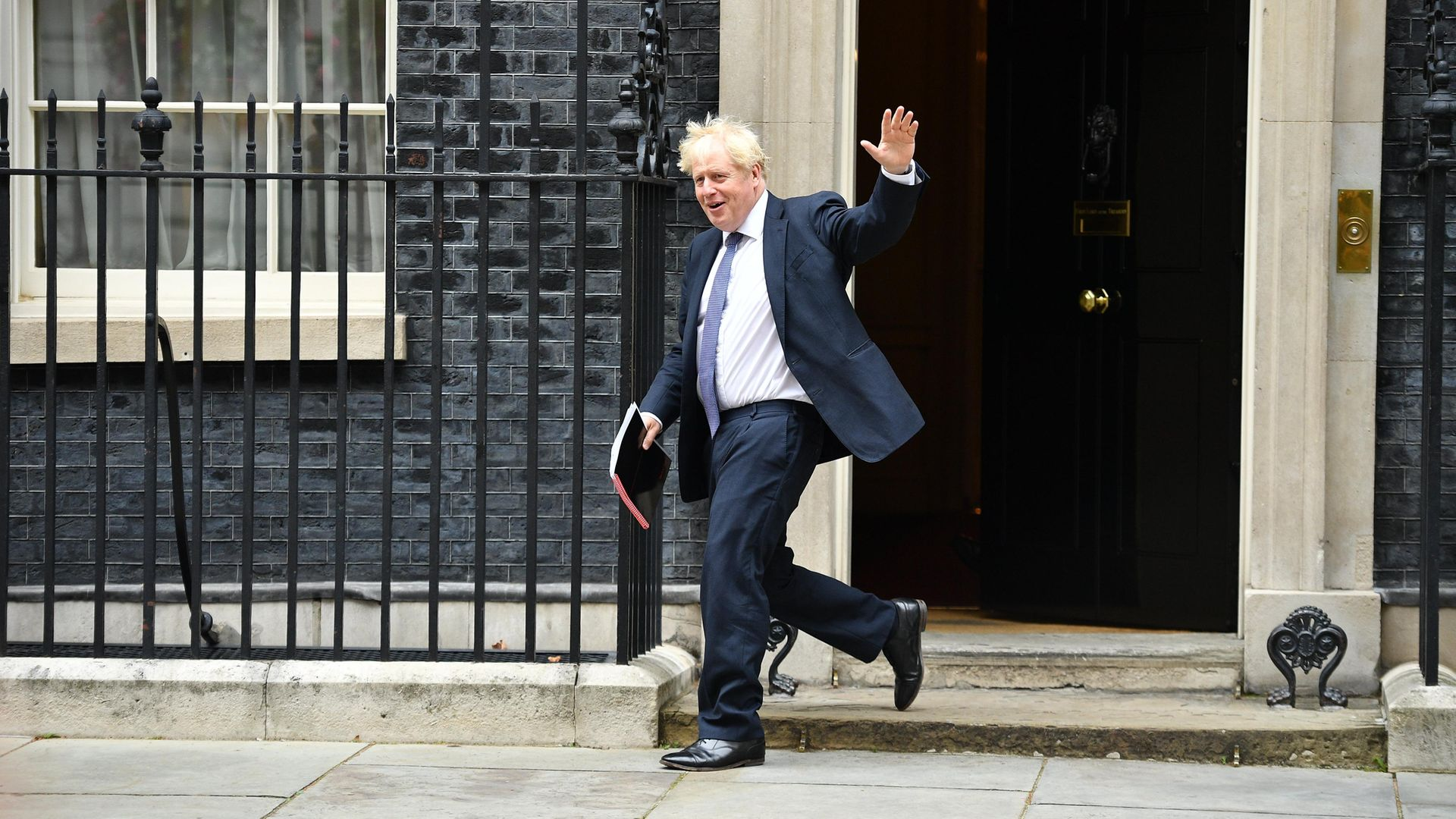 Boris Johnson leaves Downing Street - Credit: Getty Images