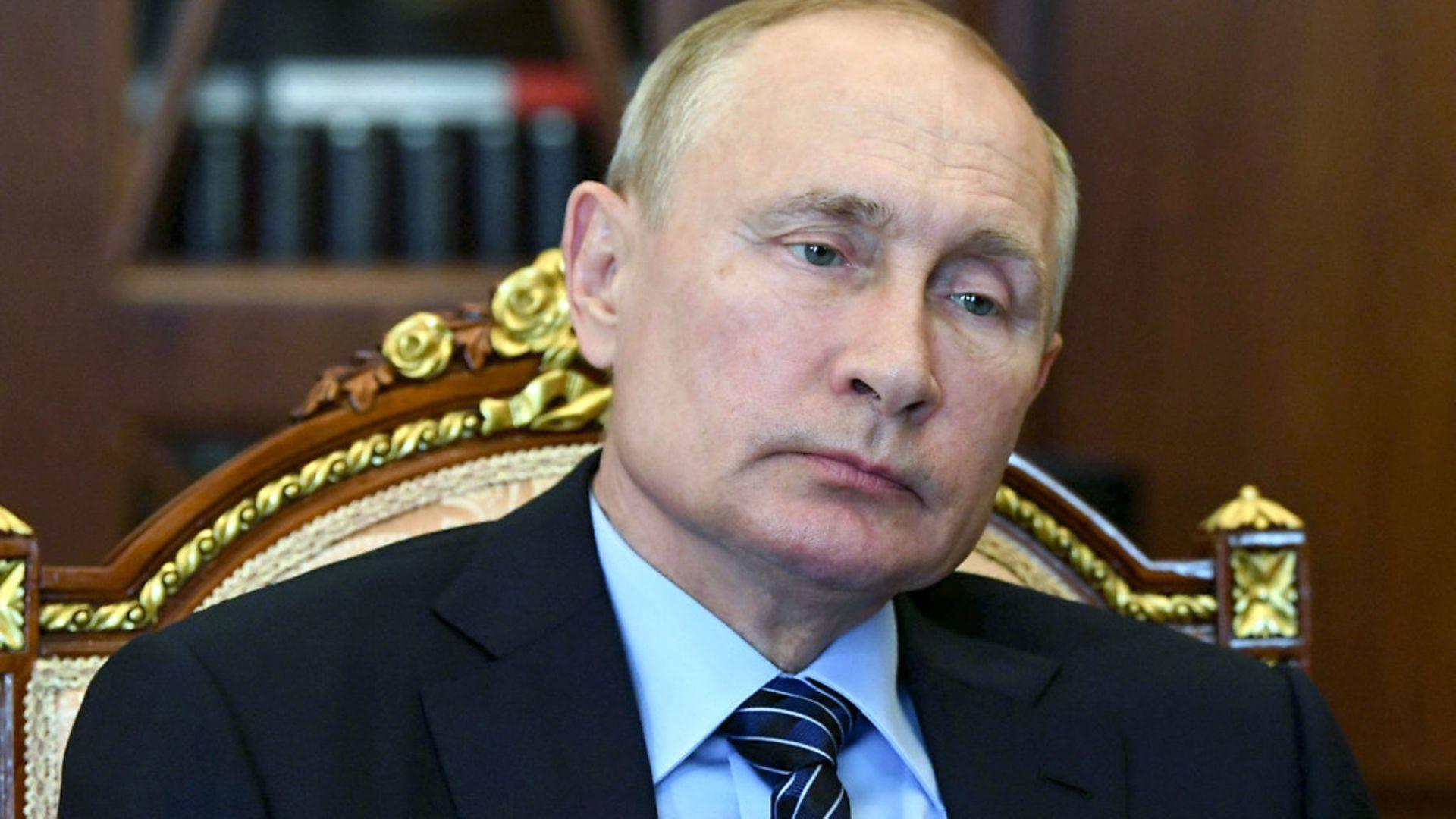 Russian president Vladimir Putin. - Credit: Alexei Nikolsky, Sputnik, Kremlin Pool Photo via AP