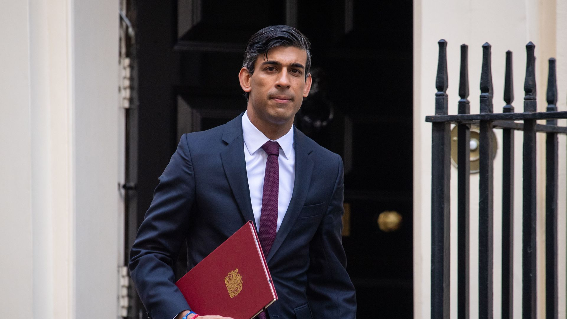 Chancellor of the Exchequer Rishi Sunak leaves No 11 Downing Street for the House of Commons to give MPs details of his Winter Economy Plan. - Credit: PA