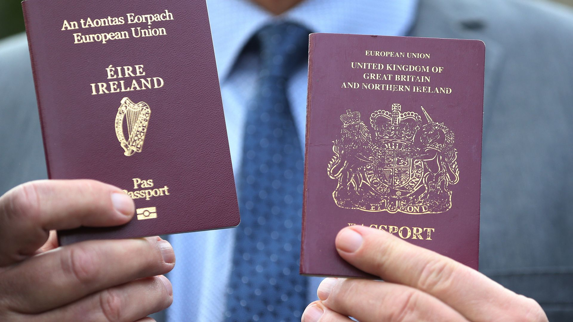 The number of Britons seeking an EU passport has increased since the start of 2020 - Credit: PA