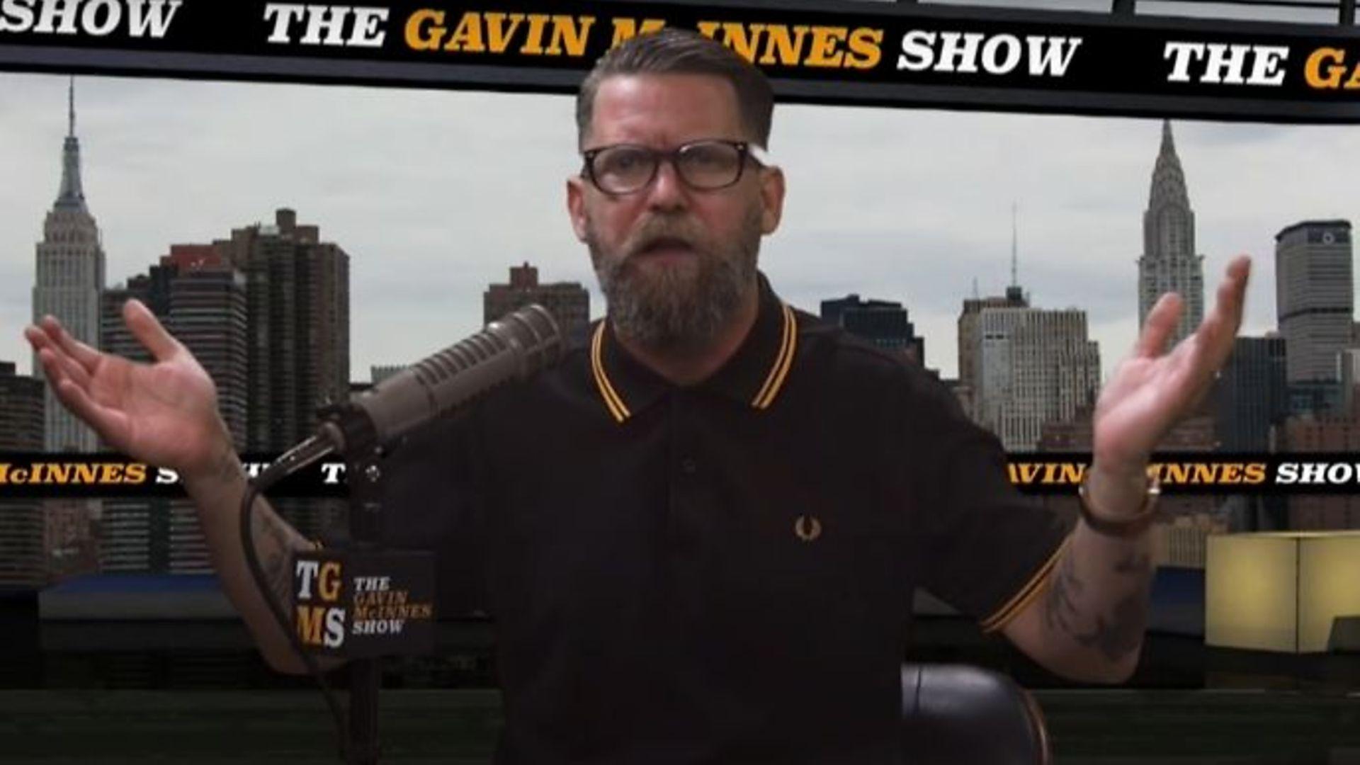 Proud Boys founder Gavin McInnes